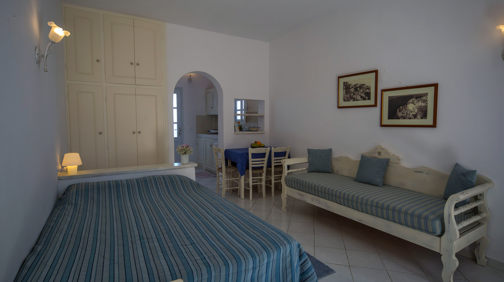 Oia Santorini Studios for 2 or 3 persons